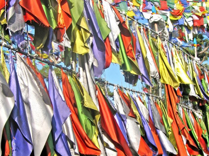 Buddhist Prayer Flags, NE India