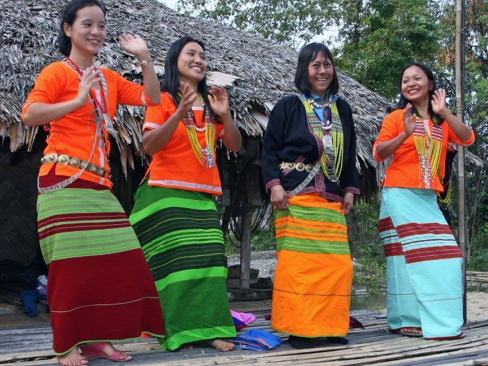 Dancing Beauties in Adi Dress, NE India
