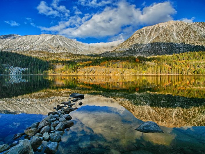 Rock Lake, Sierras, California