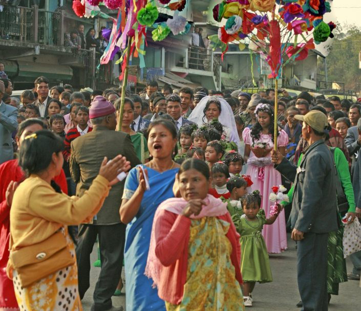 Wedding Procession, NE India