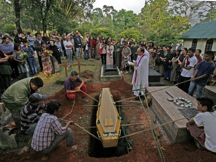 Burial, NE India