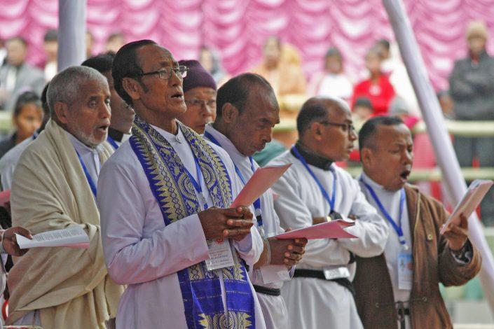 Church Goers, NE India