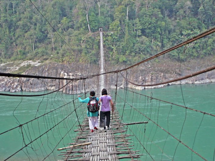 Adi Bridge, NE India