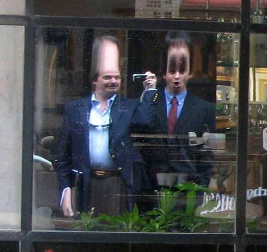 Reflection Selfie in Shop Window