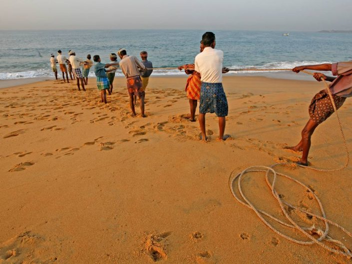 Fisherman, South India