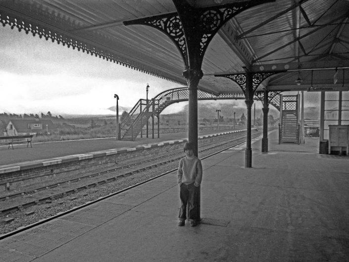 Train Station, Scotland