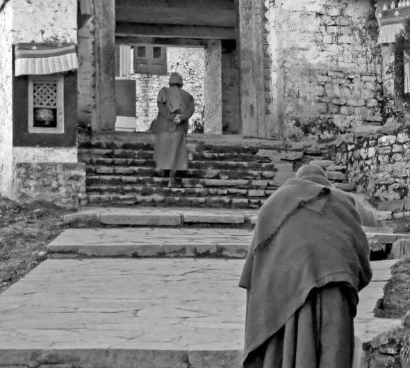 Monks, Tawang Gompa, India