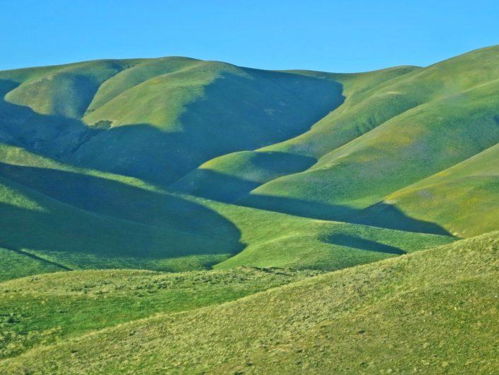 Gentle Green Landforms
