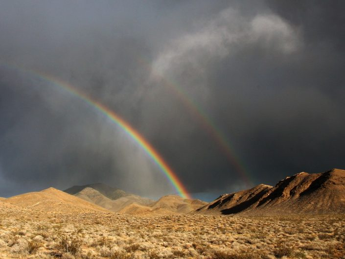 Death Valley Rains