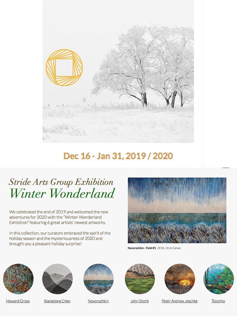 Winer Wonderland - art show