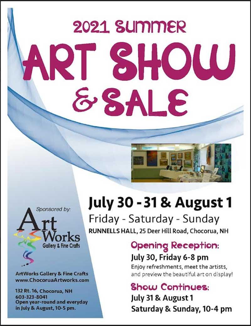 art show &- art works gallery